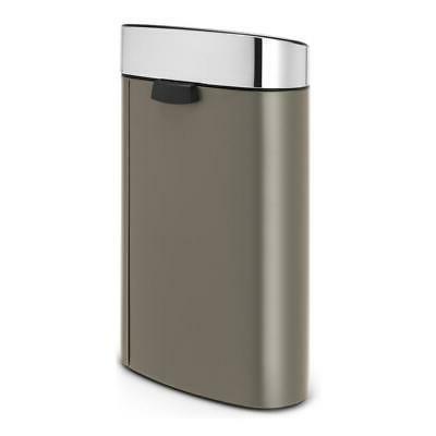 Brabantia Touch Bin, Garbage Lid in Matt Steel, L