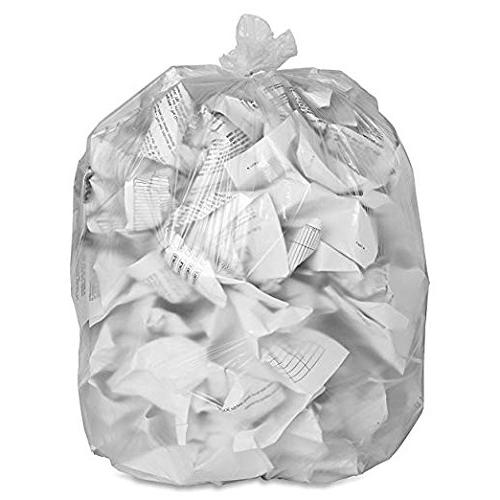 ToughBag Gallon Bags, Up Trash Bags, 50/Case, Clear