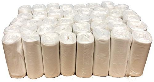 Reli. Trash Gallon - Star Seal High Density Rolls Can Garbage Bags with 1 2 Gallon