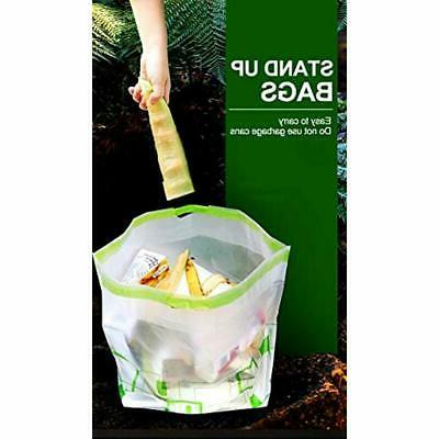 """Trash Garbage Holder Portable Can With """""""