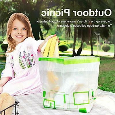 "Trash Bags Stand, Garbage Can Drawstring """