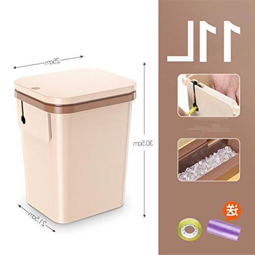 trash bin home cover plastic