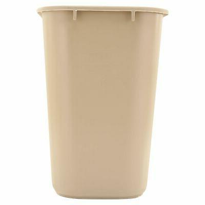 TRASH Plastic Office WasteBasket bathroom