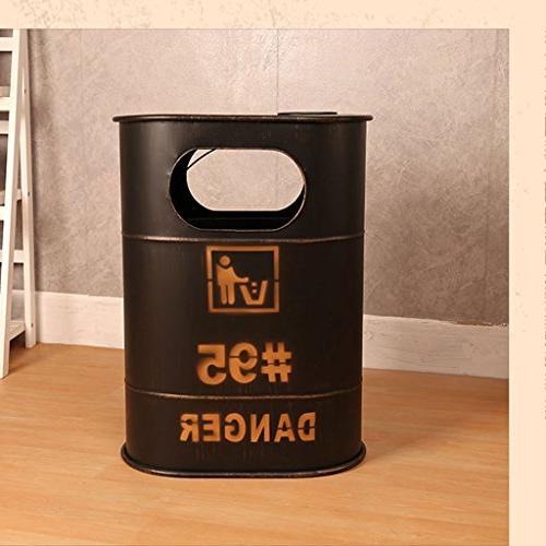 creative industry oil barrel trash