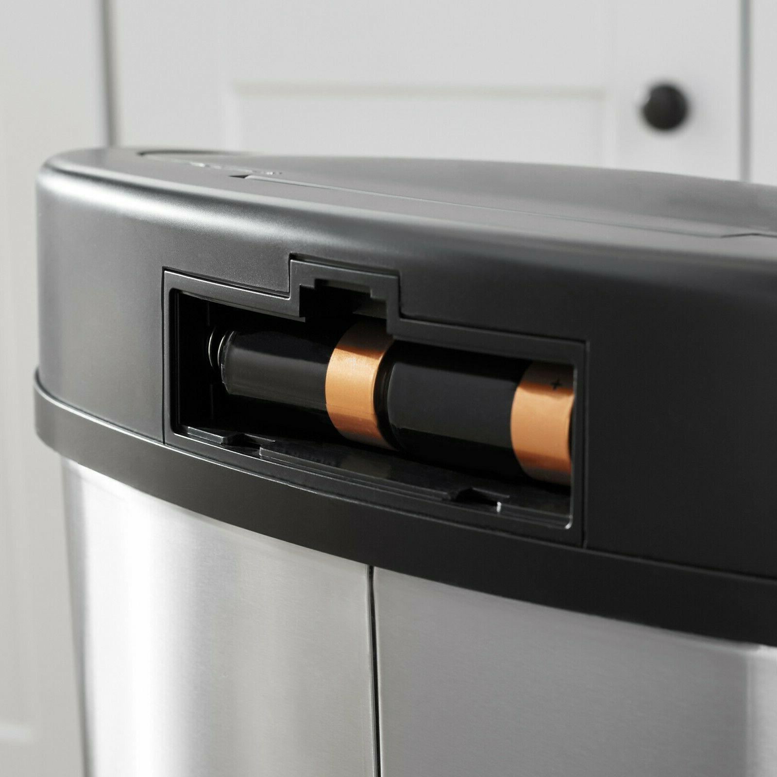 Trash Can Motion Sensor Touch Free