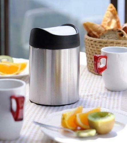 Trash Can Bag Dustbin Stainless