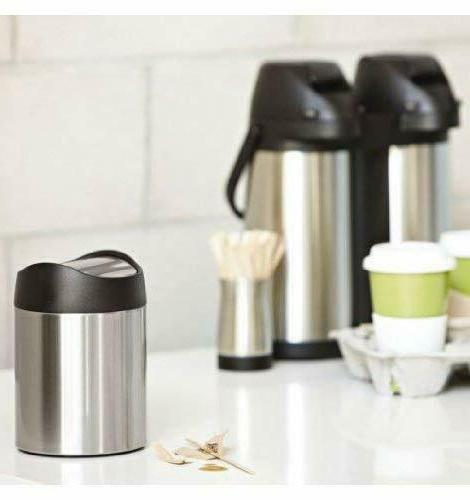 Trash Can Dustbin Stainless Steel