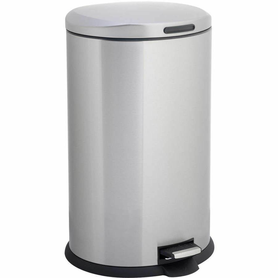 trash can stainless steel 13 gallon kitchen