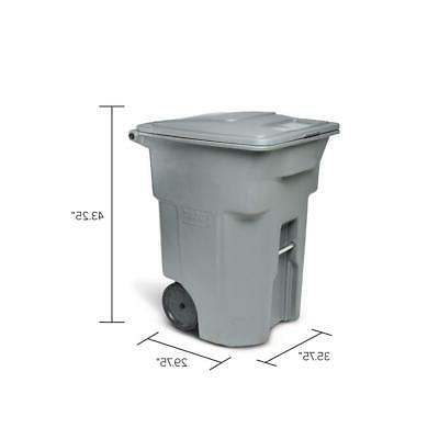 Trash Can With Outdoor Large Commerical Gallon