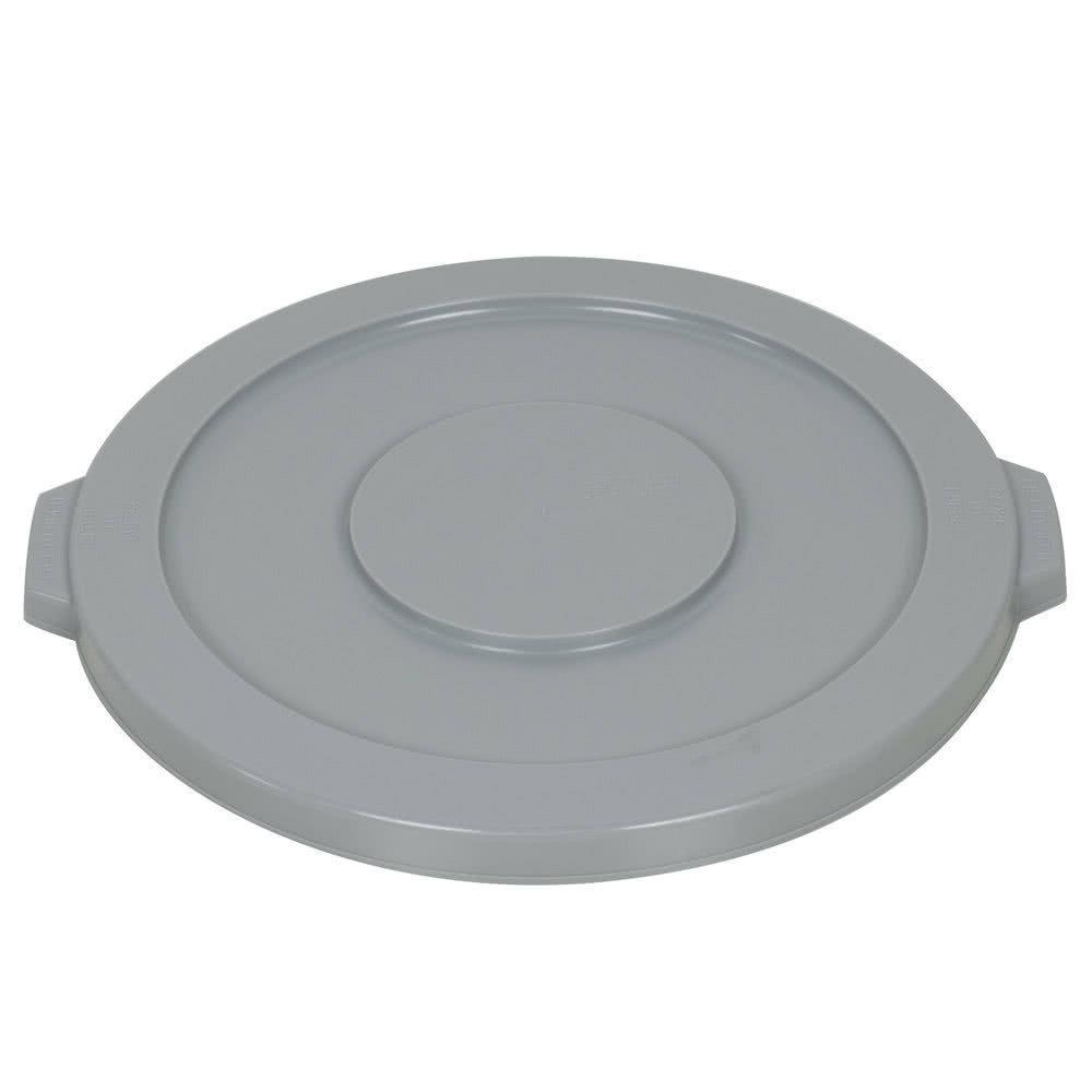 trash container lid garbage can lid gray