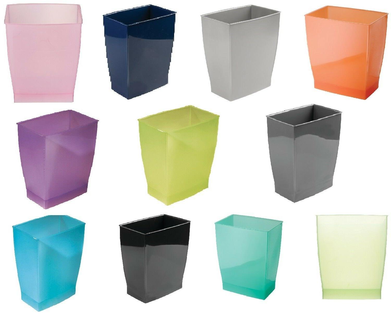 trash waste can modern bedroom bath office