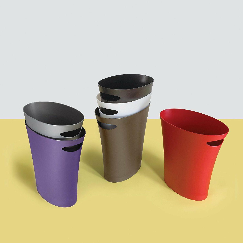 Trash Modern Litter Garbage Bin 9