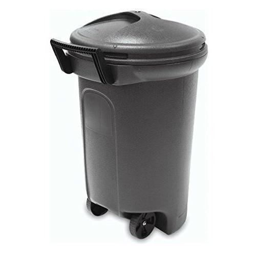trashmaster wheeled trash can