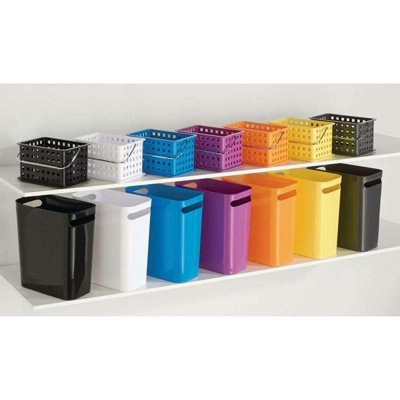Interdesign Rectangular Can With Basket Garbage For