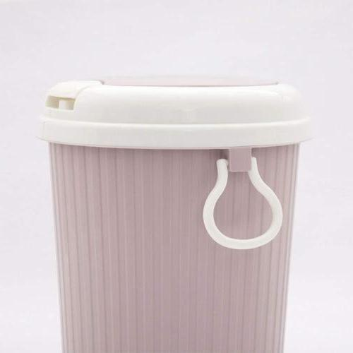 US Plastic Can Garbage Home Bathroom Kitchen Basket