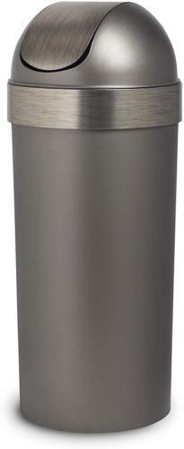 Umbra Venti 16-Gallon Swing Top Kitchen Trash Large, 35-inch
