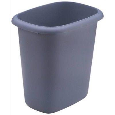 Rubbermaid Waste Basket, 6-Quart, Blue colors varies