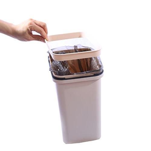 HMANE Waste 6L Can Living Flip Garbage -