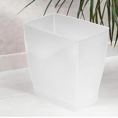 InterDesign Container Rectangular Plastic - Frost