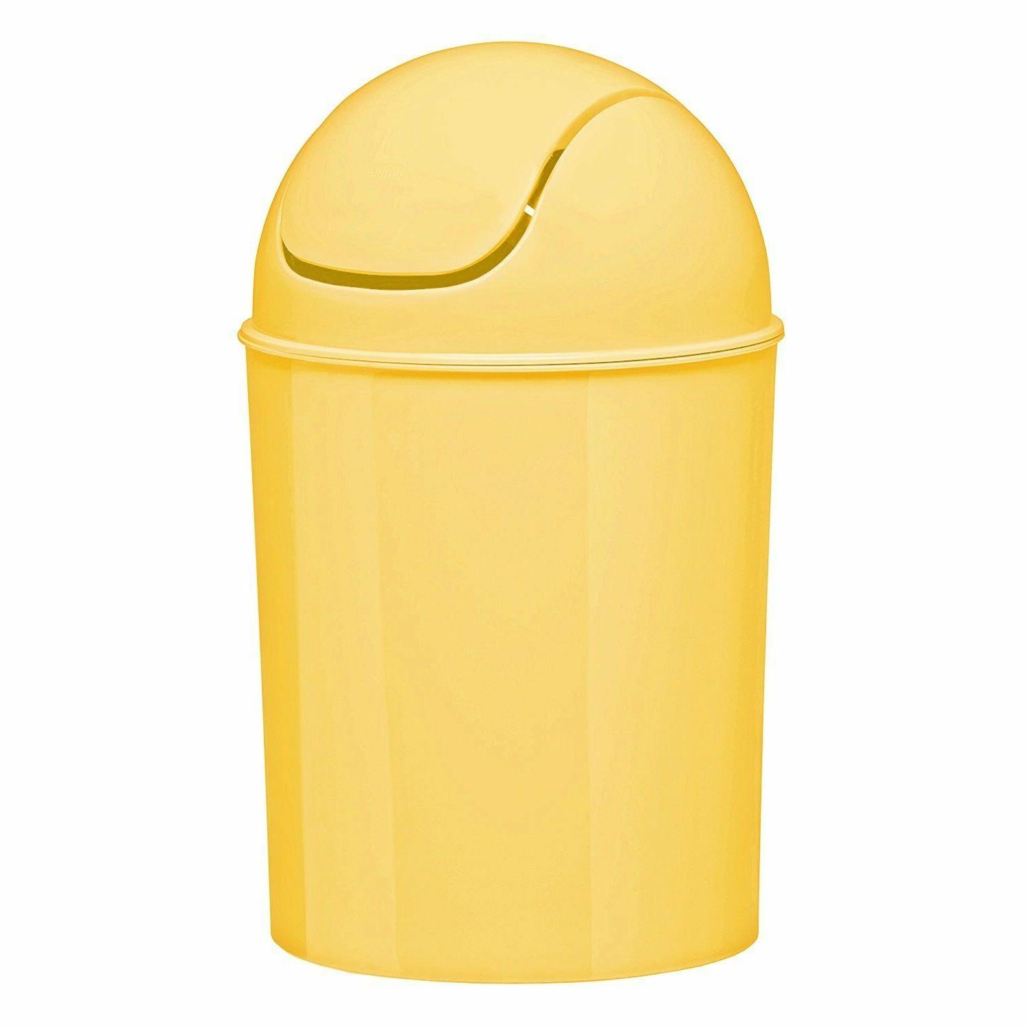Waste Garbage Basket Can For 1 1/2 Lid Colorful