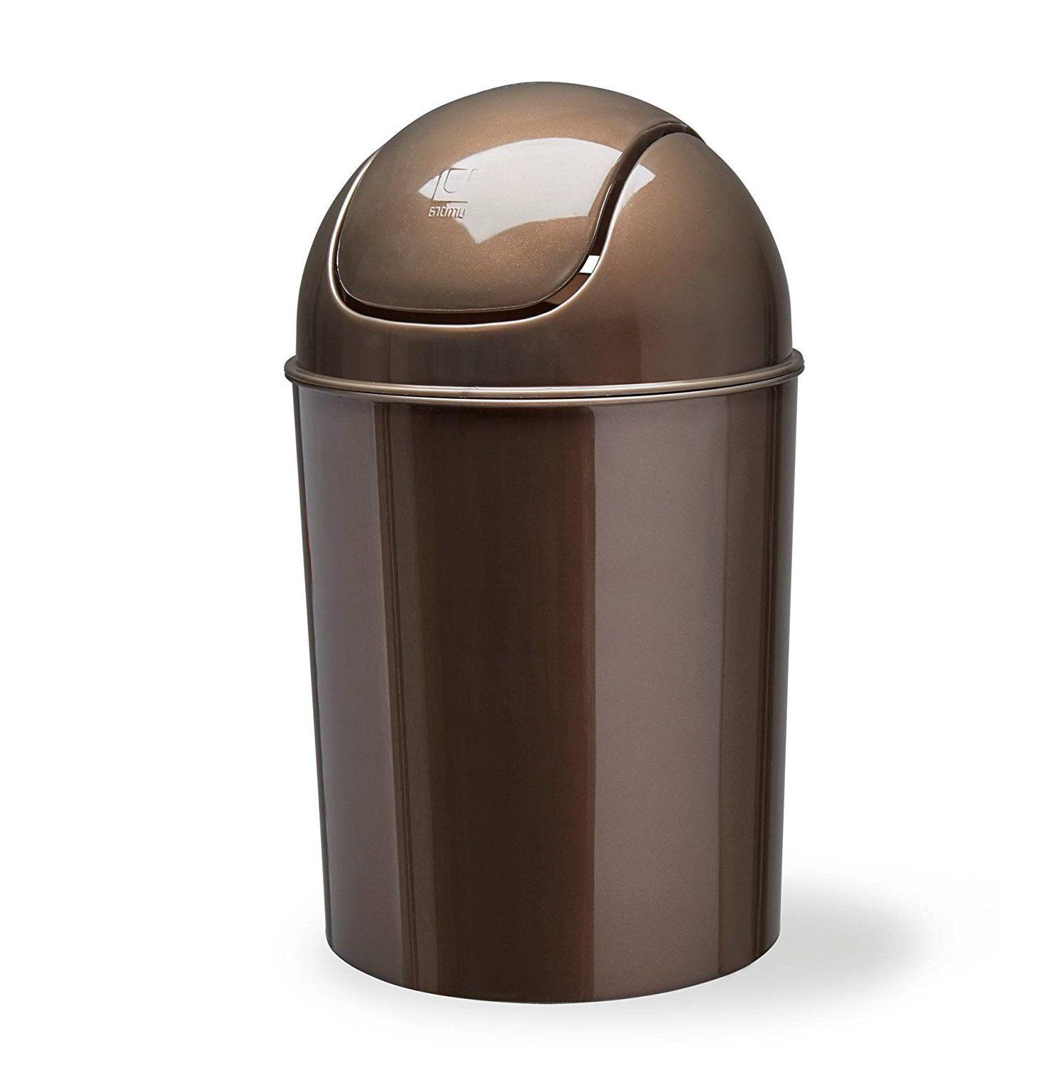 Waste Garbage Basket Can For 1 1/2 Gallon Swing Lid