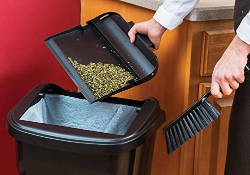 United Solutions WB0258 All-in-One Dustpan and Brush