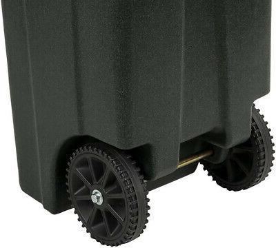 Toter Trash 32 Gal. Lid Garbage Truck Greenstone