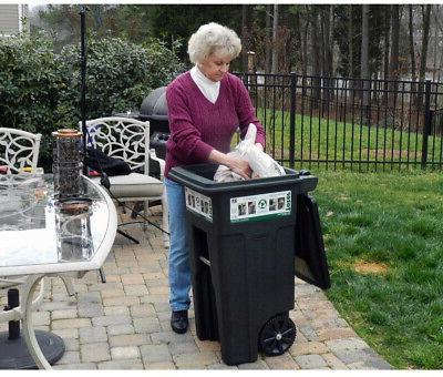 Toter Trash 32 Lid Garbage Compatible