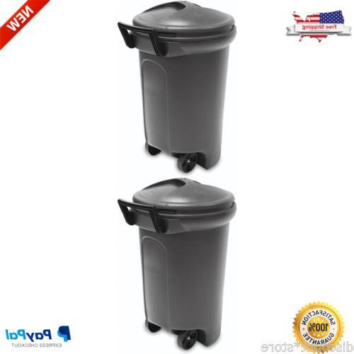 Wheeled Outdoor Bin Recycling