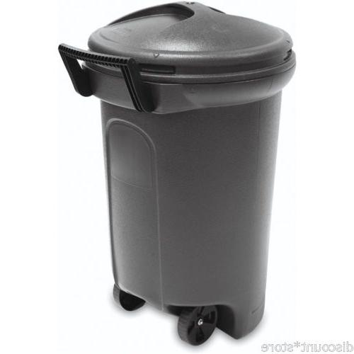 Outdoor Bin Recycling Container Black