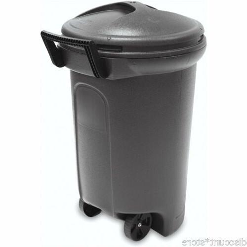 Wheeled Outdoor Bin Lid Recycling