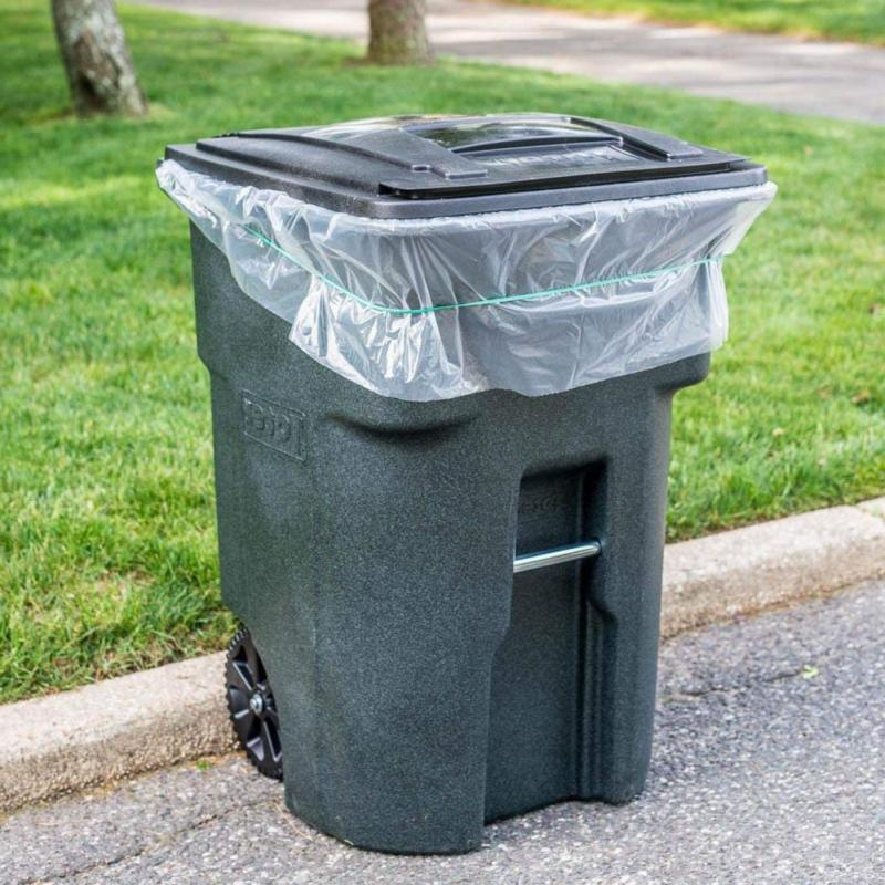 WHEELED TRASH LID GARBAGE CONTAINER BIN