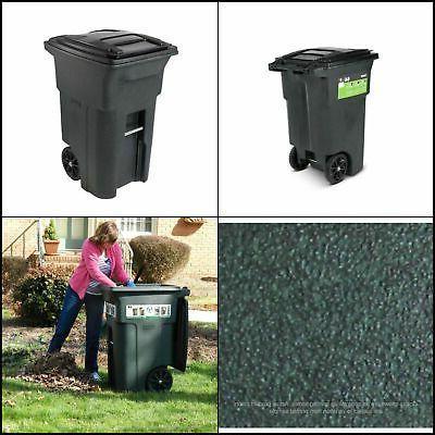 64 gal polyethylene wheeled garbage can lid