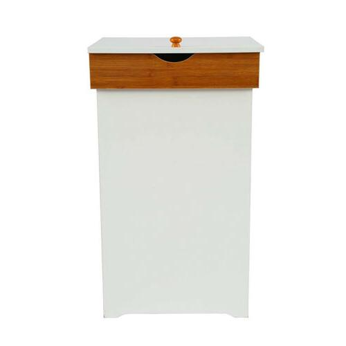 13 Gallon Bin with Kitchen Trash Can Garbage Container