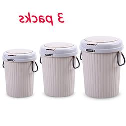 Nacde lajitong Household Trash Can Handle Large Plastic With
