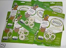 Lot Garbage Bandz Gripper Reusable Trash Bag Can Liner Rubbe