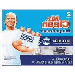 """Mr. Clean 47546CT Magic Eraser Kitchen Scrubber, 3 9/10"""" x 2"""