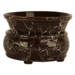Wax Melts Warmer Candle Warmers for Scents Brown Marble 2-in