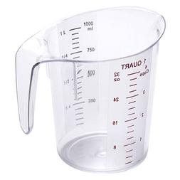 Value Series MEA-100PC Polycarbonate Measuring Pitcher - 1 Q