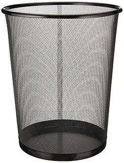 Zuvo Mesh Wastebasket Metal Wire Garbage Trash Can for Offic