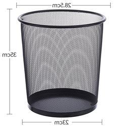 Metal mesh trash can,Home office kitchen living room bathroo