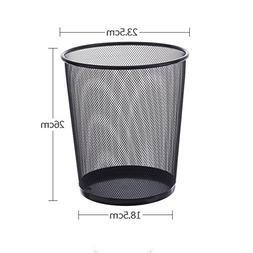 Metal mesh trash can,Home office kitchen living room bathroo