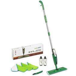 Homevative Microfiber Spray Mop Kit w/ 3 pads, 2 bottles, Pr