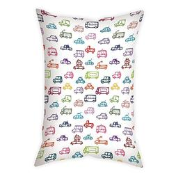 Polyester Throw Pillow Cushion Cover,Cars,Various Types of V
