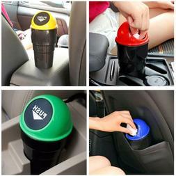 Mini Auto Car Dustbin Rubbish Trash Can Garbage Box Case Hol