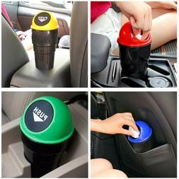 Mini Auto Car Dustbin Rubbish Trash Can Garbage Box Case Hol