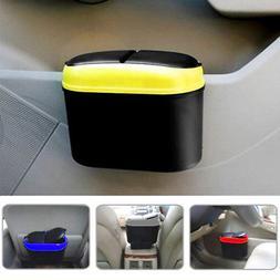 Mini Auto Car Vehicle Garbage Dust Case Holder Box Bin Trash