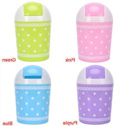 Mini Can Desk Office Home Trash Can Car Garbage Holder Waste
