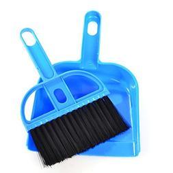 Staron Mini Cleaning Broom Brush and Dustpan Set Small Deskt