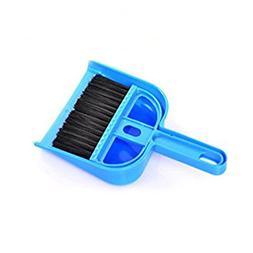 Generic Mini Cleaning Broom Brush and Dustpan Set Desktop Sw
